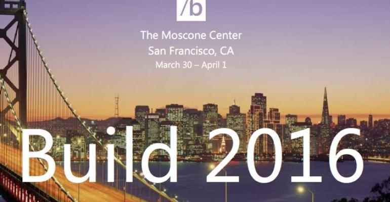 Microsoft Build 2016 Registration to Launch January 19th