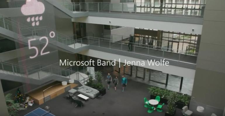 Fitness Celebrity Training for Your Microsoft Band