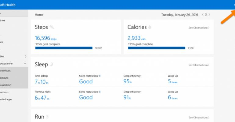 Fit Personalization Transfer Between Microsoft Band Devices