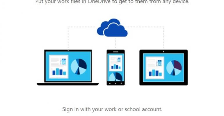 new onedrive for business sync client much better but not
