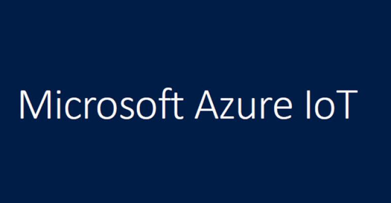 Microsoft Releases the Azure IoT Hub to General Availability