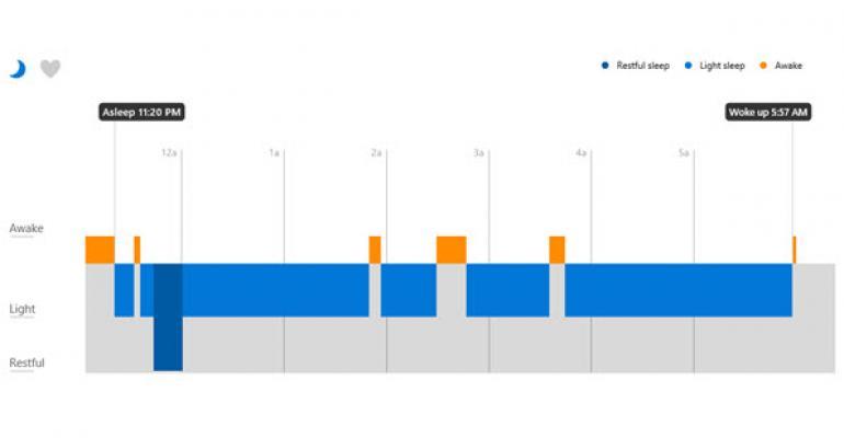 Microsoft Band: Auto-sleep Detection versus Using the Sleep Tile