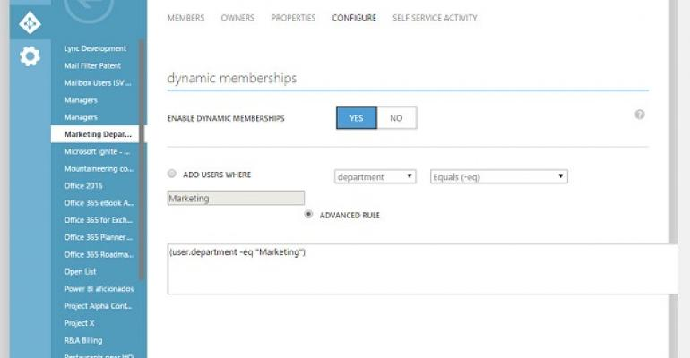 Dynamic Office 365 Groups might come with a big cost