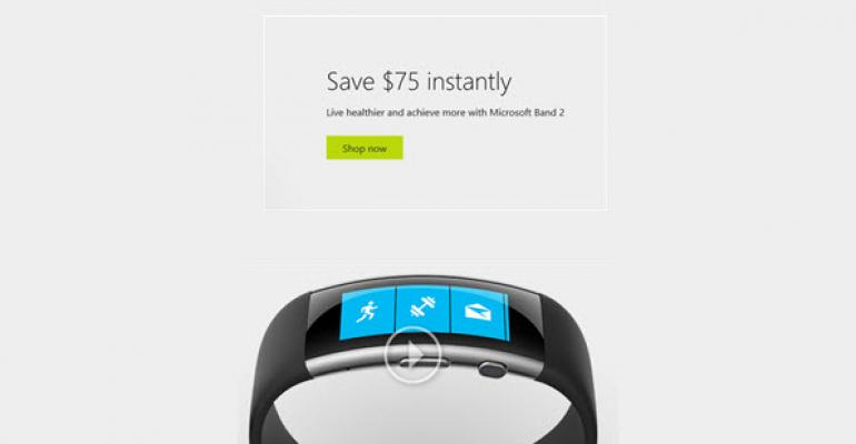 Save $75 on the Microsoft Band 2 Until March 26