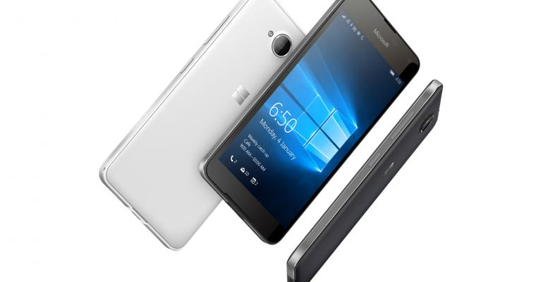 The Lumia 650 from Microsoft is now Official
