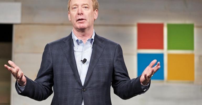 Microsoft's Smith Says Secret Subpoenas Hurt U.S. Tech Companies