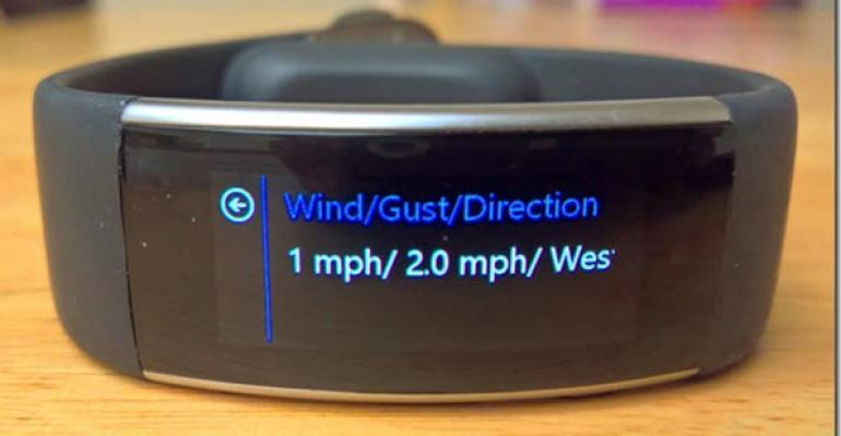 Developing Your Own Wind Alerts for Microsoft Band