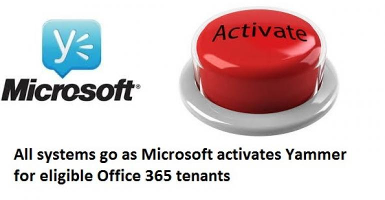 Yammer for all (whether you want it or not)