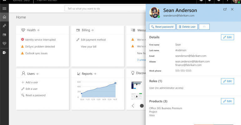 New Office 365 Admin Center Begins Roll Out