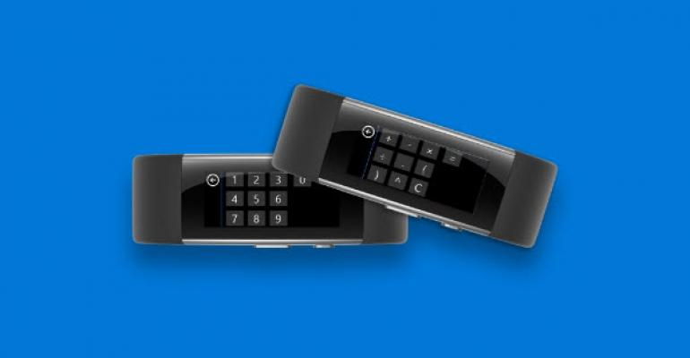 Microsoft Band: A Calculator on Your Wrist