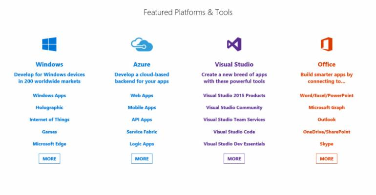 Microsoft Delivers New Developer Site as Part of Build 2016