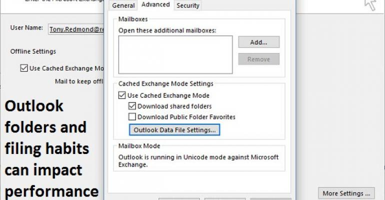 The downside of being a filer and other reasons why Outlook's cached limits might bite you