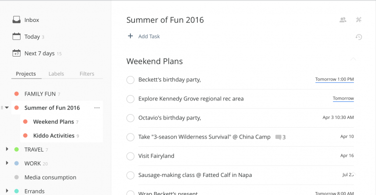 Hands On With Todoist: Four Things It Does Well, Five Things It Could Do Better