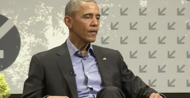 "At SXSW, President Obama argues unbreakable encryption ""can't be the right answer"""
