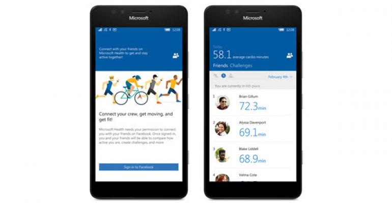 Microsoft Band Gets Even More Social in Update Set to Rollout