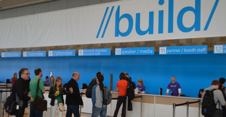 A Glance into the Build 2016 Schedule