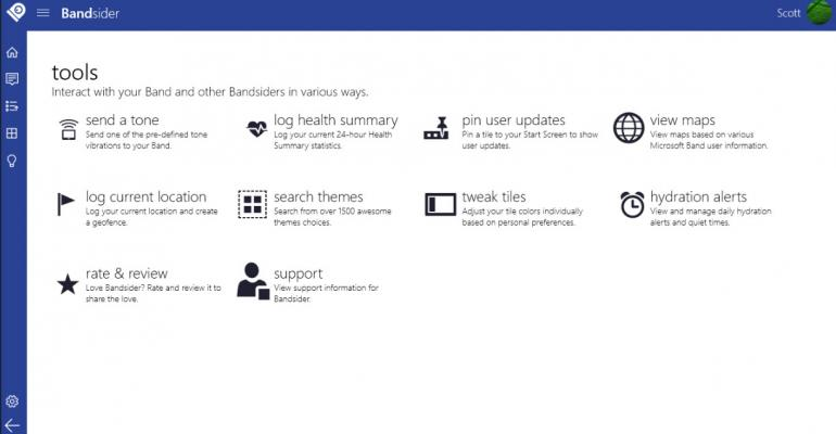 Bandsider App Seeks to Connect the Wrists of Microsoft Band Owners