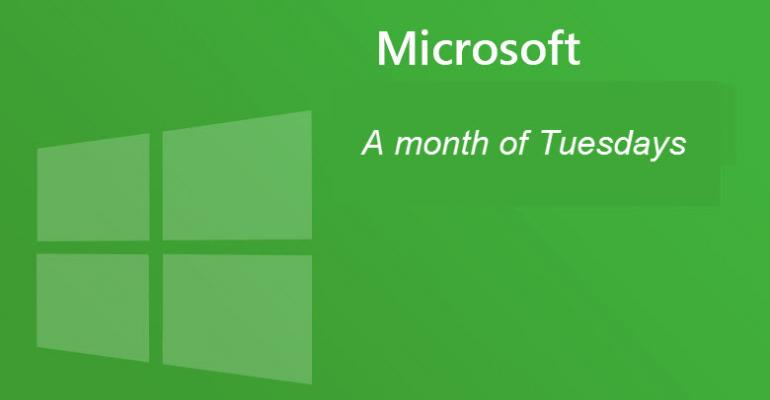 microsoft adds a patch day to the regular monthly update schedule