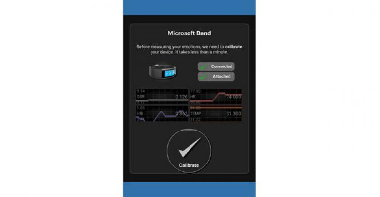 Use Microsoft Band to Analyze and Record Engagement and Emotions