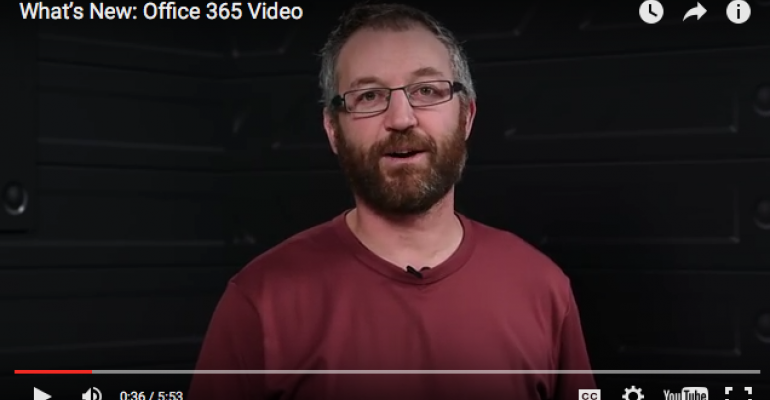 Lights, Camera ... Office 365 Video Is Ready for Its Close-Up