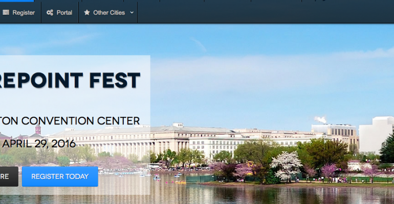 Check Out These 6 SharePoint Fest DC Sessions for Deep Insight into SharePoint 2016