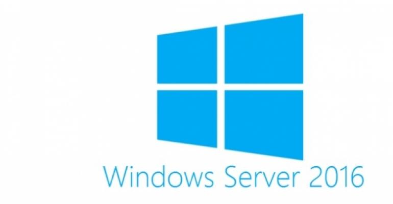 Default encapsulation for Windows Server 2016 network virtualization