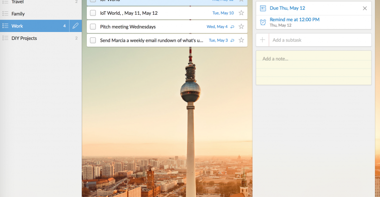 Hands On With Wunderlist: Four Things It Does Well, Five Things It Could Do Better