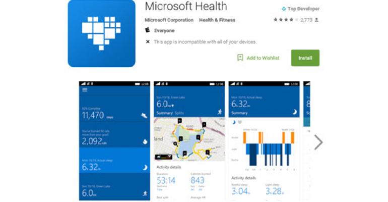 Microsoft Health App Update for Android Fixes Due This Week