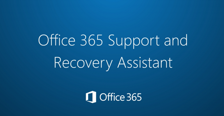 Office 365   This app helps you troubleshoot issues with your