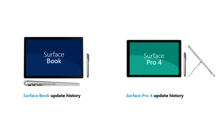 Surface Book and Surface Pro 4 Receive Several Camera Related Driver Updates