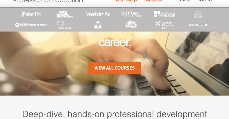 Check out Penton Technology's New Professional Education Platform