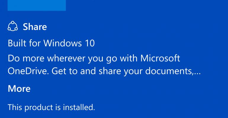 OneDrive Windows 10 Mobile App Update Implements Automatic Screenshot Uploads