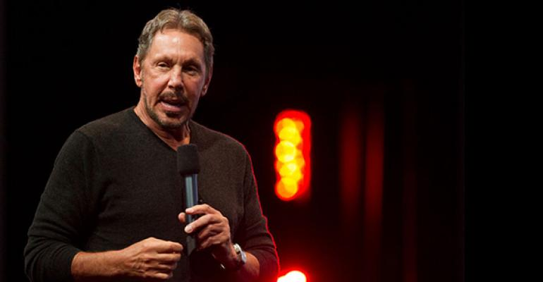 Oracle founder and current CTO Larry Ellison