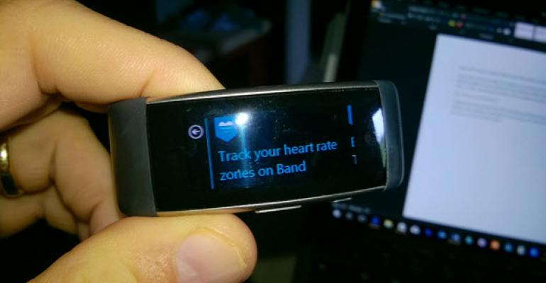Microsoft Health Update Adds Heart Rate Zones to Microsoft Band