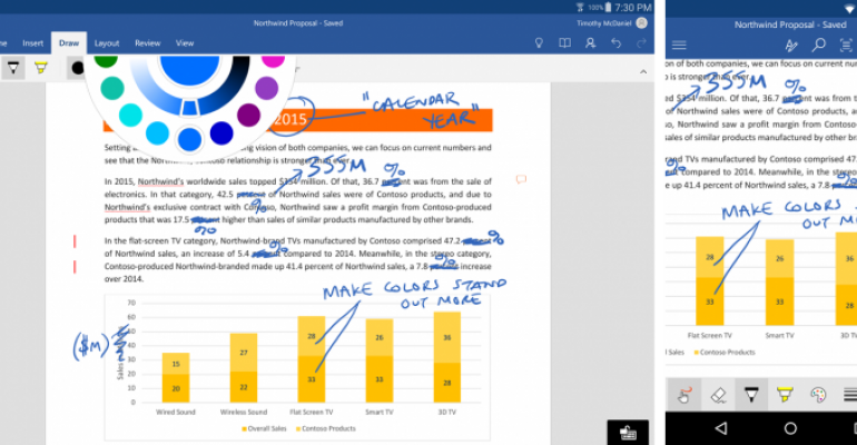 Fresh Ink: Insiders Can Now Use the Windows 10 Feature On More Apps