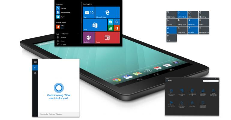 Dell Dumps Android, Goes All-in for Windows 10