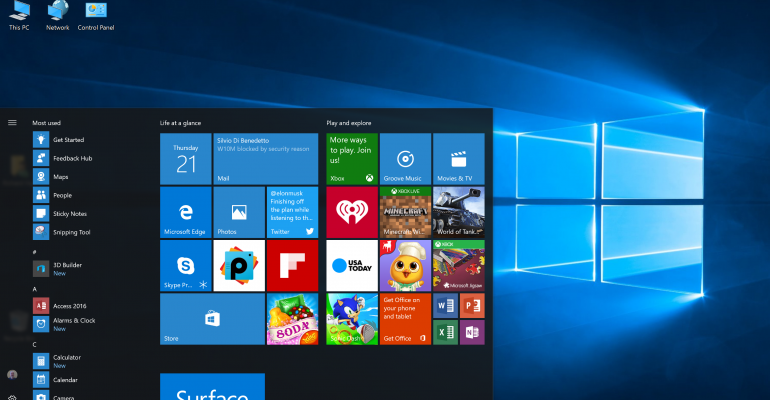 Windows 10 Build 14393 Moved to Slow Ring as Anniversary Update Release Nears