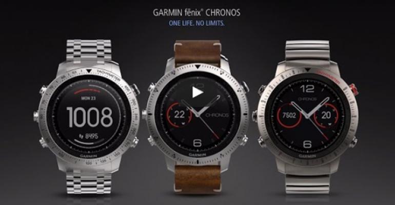Garmin Ships the Chronos - a More Expensive Version of the Fenix 3 HR