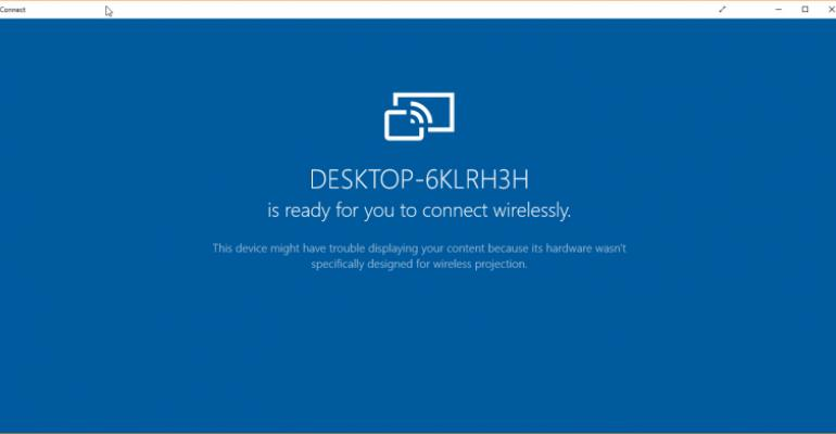 Use Windows 10 Anniversary's Connect App to Cast Your Smartphone Screen to Your PC