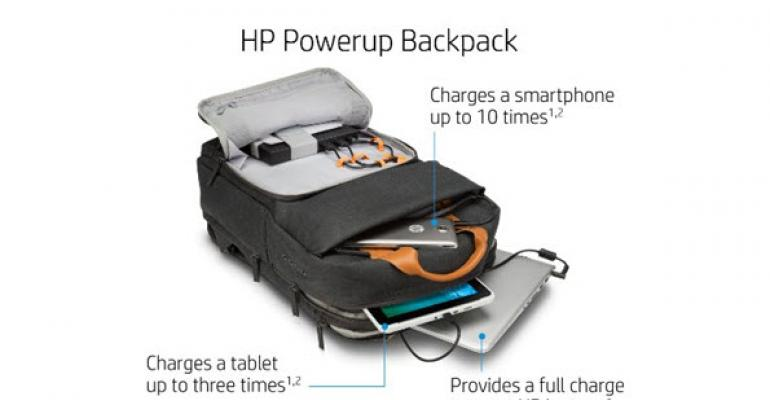 HP's New Backpack is a Portable Power Station for your Laptop and Devices