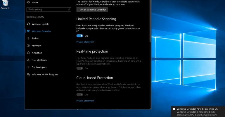 virus scanner software for windows 10