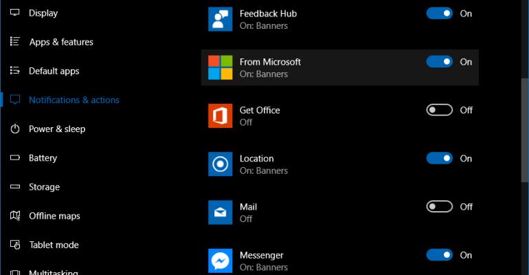Is Redmond Testing a New Microsoft Account Alert Channel in Windows 10?