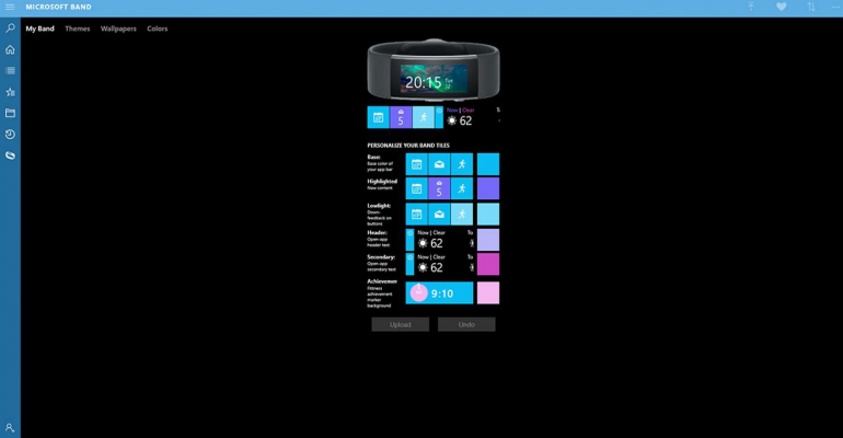 Sync Your Windows 10 Wallpapers to Your Microsoft Band