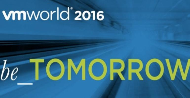 VMworld 2016 Day Two: End User Computing, vSphere Integrated Containers and Hyper-Converged Infrastructure