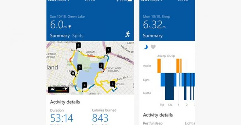 Microsoft Band App Updated on Android and iOS to Match Windows