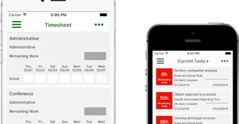 microsoft made it easier for you to submit your timesheets wherever you are