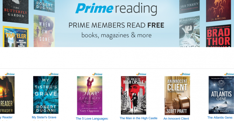 Amazon Prime Reading Bumps Up the Subscription Benefits for Prime Subscribers