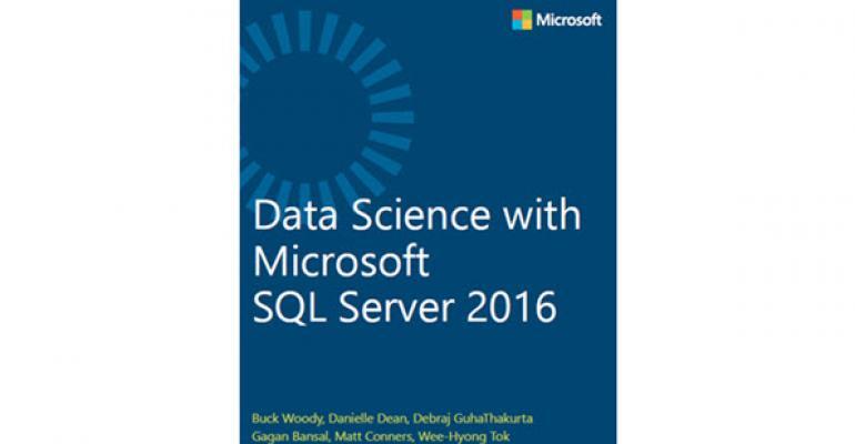Free eBook on Data Science Using Microsoft SQL Server 2016