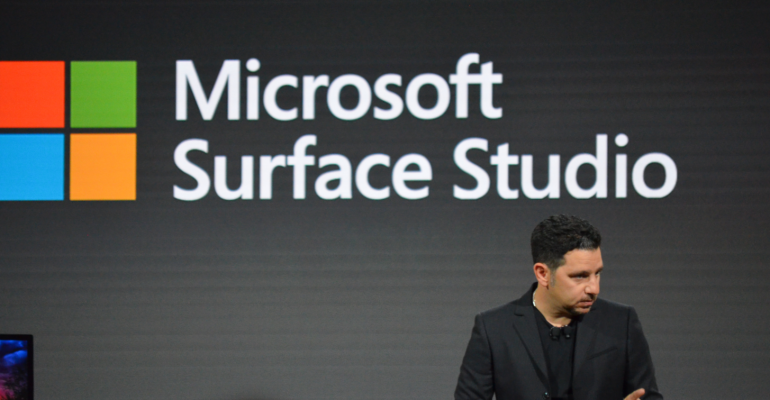 Surface Studio's Form Factor And Features Redefine 'Creativity'