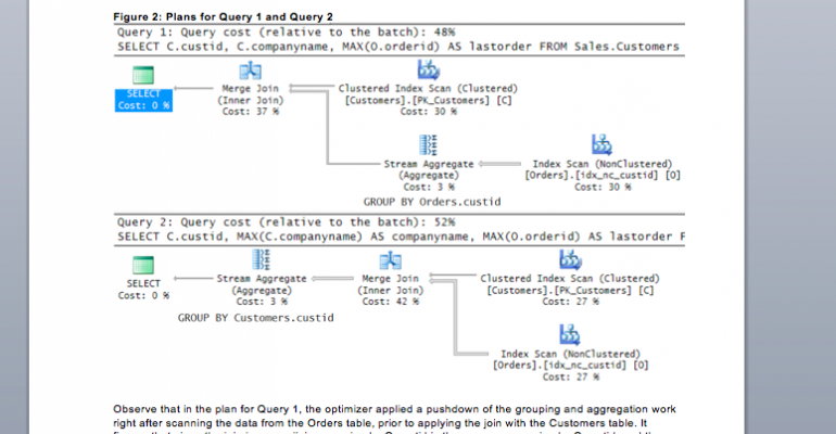 Logical Query Processing Part 7:  GROUP BY and HAVING